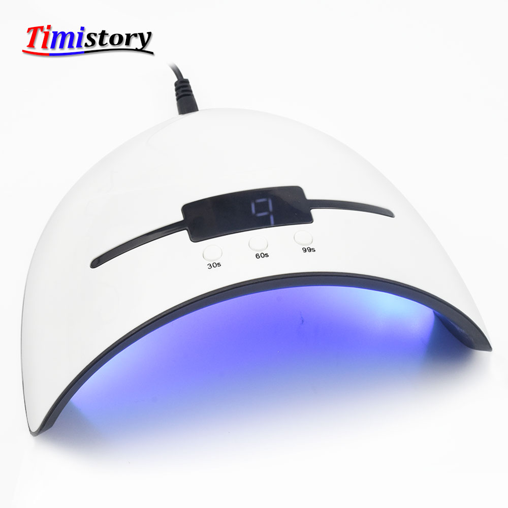 36W UV LED Nail Lamp LED Display Nail Dryer for All Gels UV Lamp For Machicure 12 Led Beads Infrared sensing Nail Art tools