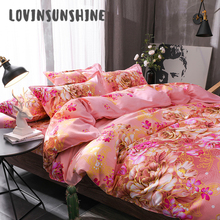 LOVINSUNSHINE Pillowcase Cover Linen Soft Bed Flower Bedding Covers And Comforters AB#27