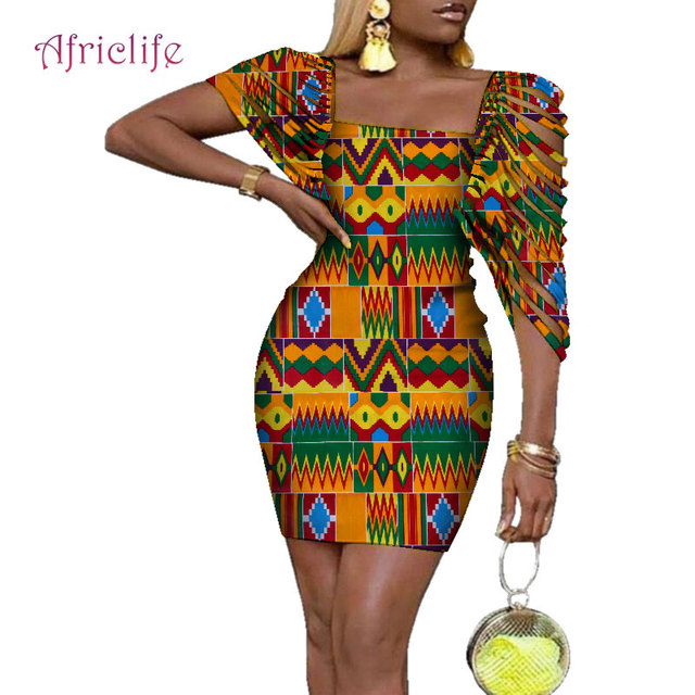 ef2f8a036 ... vestido para las mujeres WY4317. 2019 New Bazin Riche Sexy Dresses  Clothes Traditional African Design Clothing Dashiki African Wax Print Dress