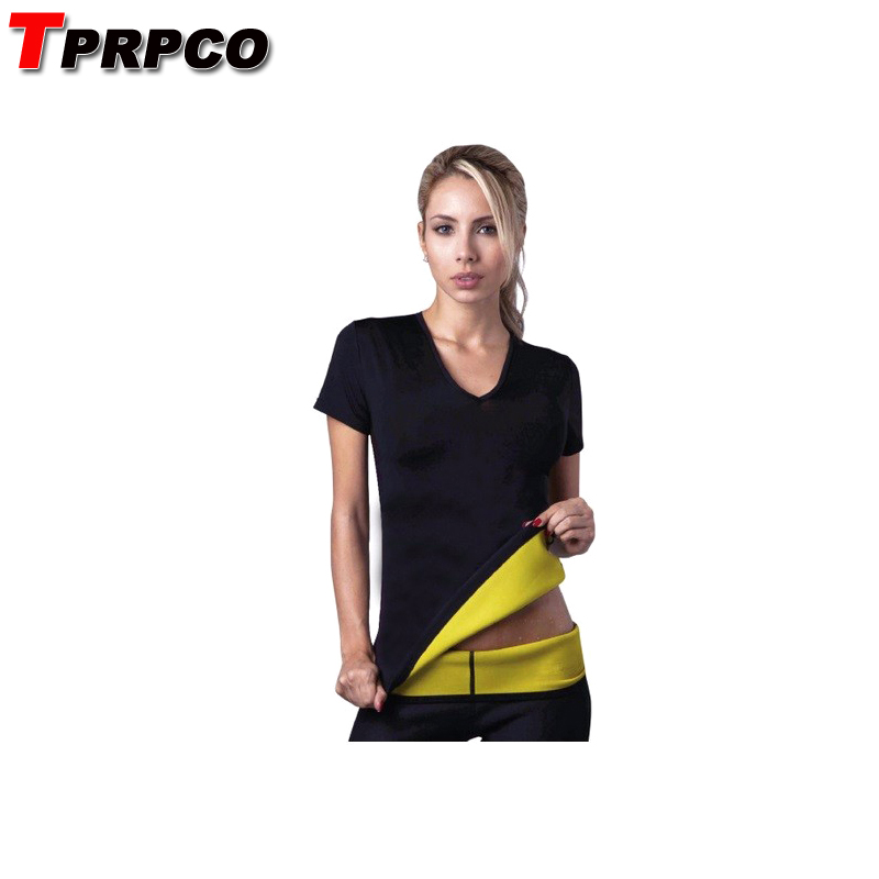 TPRPCO T-shirtless Stretch Neoprene Slimming Vest Body Shaper Control Vest Tops