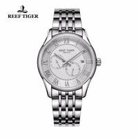 Recife Tigre/RT Relógios Negócio Novo Design Relógio com Data de Aço Inoxidável Relógios Dos Homens Relógio Automático com Quatro Mãos RGA165