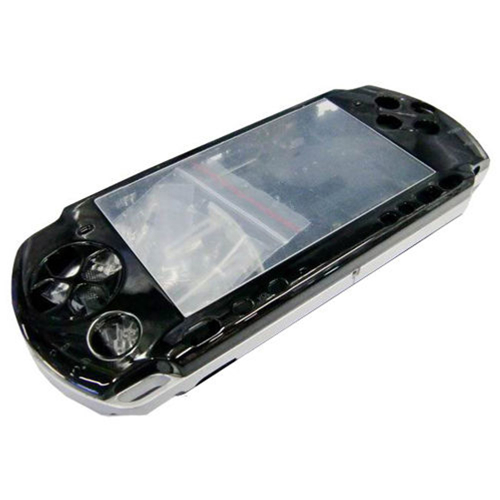 Transparent Replacement Housing Shell Full Case Portable Durable Repair Parts Practical Game Console Cover For PSP3000