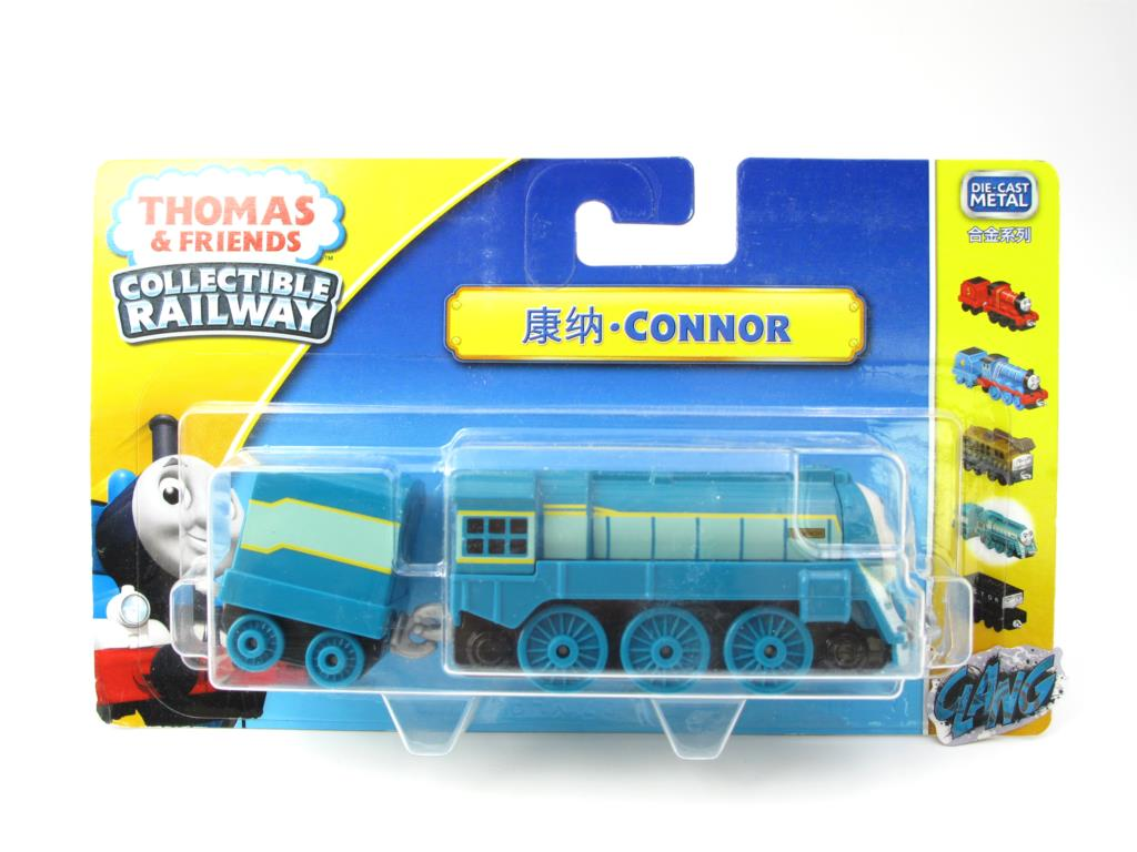1:64 Diecasts Vehicles Thomas T030N CONNOR Thomas And Friends Magnetic Tomas Truck Engine Railway Train Toys for Boys NIB