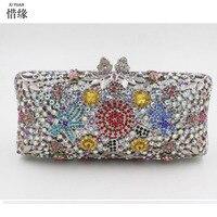 Xiyuan Марка держателя карты портмоне Телефон кошелек карман для наличных фото клатч для девочек Подарки на день рождения