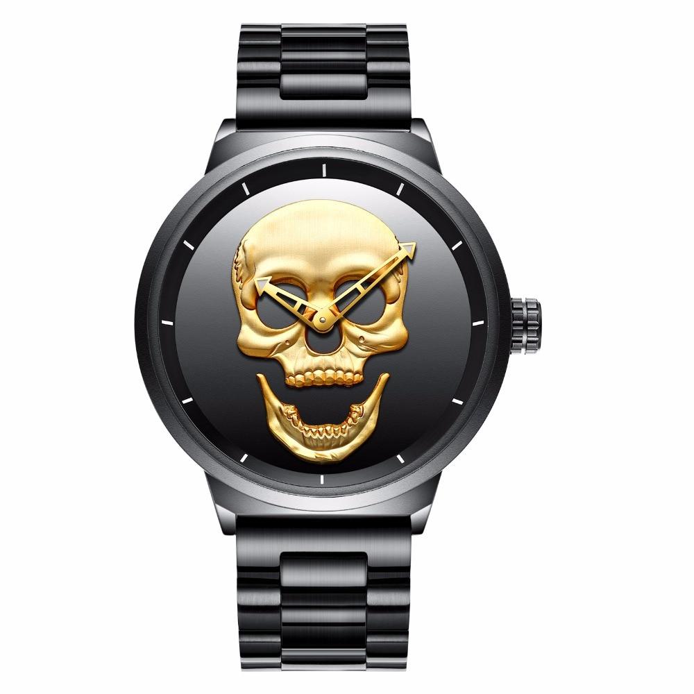 ✅купить наручные часы с черепом недорого в москве.