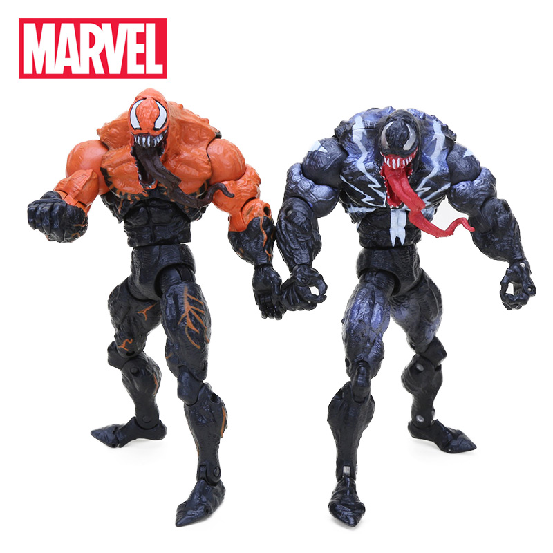 16cm Marvel Toys Venom Action Figure Amazing Spiderman Spider-Man Series Superhero Collectible Model Doll Toy Christmas Gifts(China)