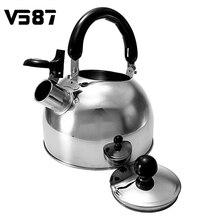 304 2 Litros Hervidor de Agua de Acero Inoxidable Silbando Hervidor de Agua Caldera de Calor De Inducción Cocina De Gas Utensilios de Cocina de Alta Calidad