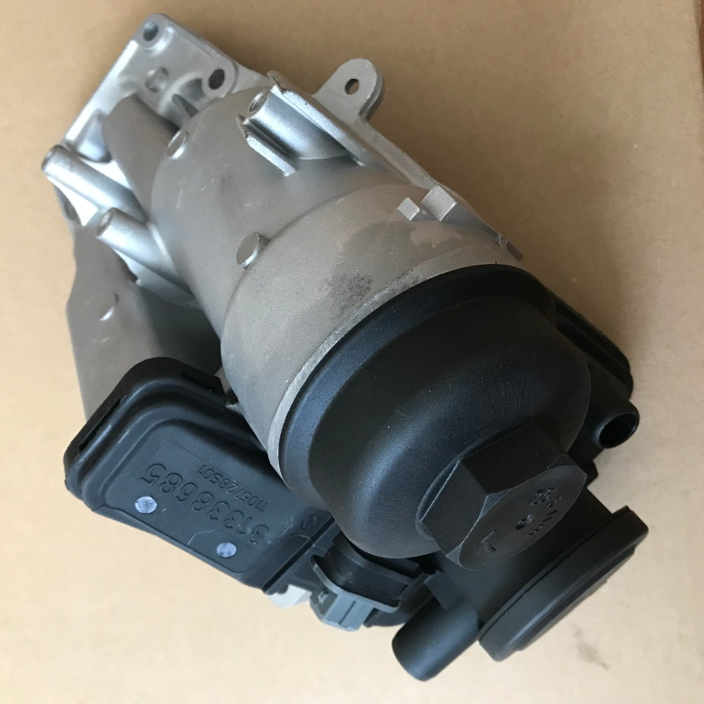 US $146 99 |Oil Filter Housing For Volvo S80 S60 V70 C70 C30 S40 V40 V50 5  Cylinder 31338685-in Valves & Parts from Automobiles & Motorcycles on