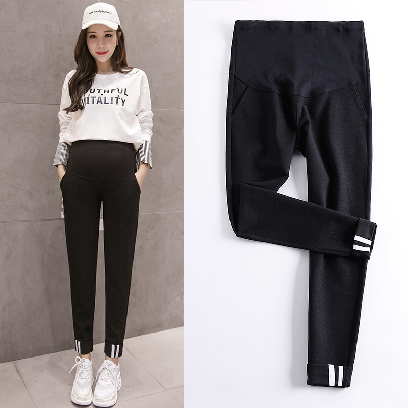 f1c2f4ad7b254 Fashion Maternity Sports Pants Sweatpants Pregnancy Clothes For Pregnant  Women Casual Maternity Clothing Autumn Sweatpants