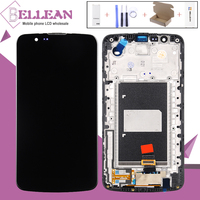 HH K10 TV Lcd For LG K10 K430 K430DS K420N 420N K410 K410TV Lcd Display Touch Screen Digitizer Assembly With Frame With IC
