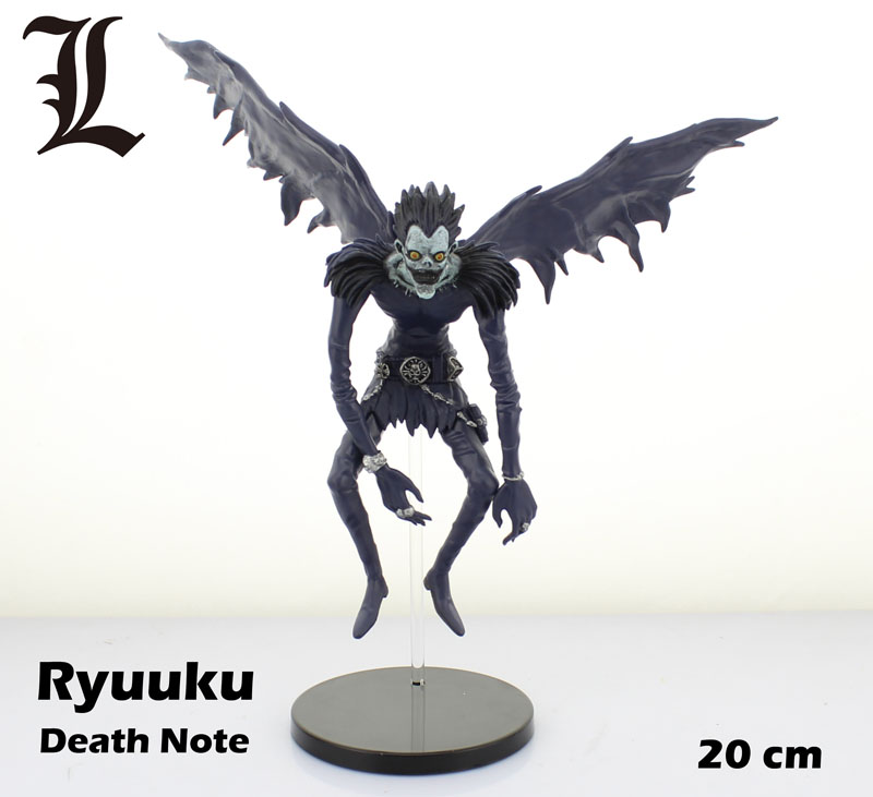 "Free Shipping 8"" <font><b>Death</b></font> <font><b>Note</b></font> Anime Deathnote <font><b>Ryuk</b></font> Ryuuku 20cm PVC Action <font><b>Figure</b></font> Colletion <font><b>Model</b></font> Doll Toy Gift Decoration"