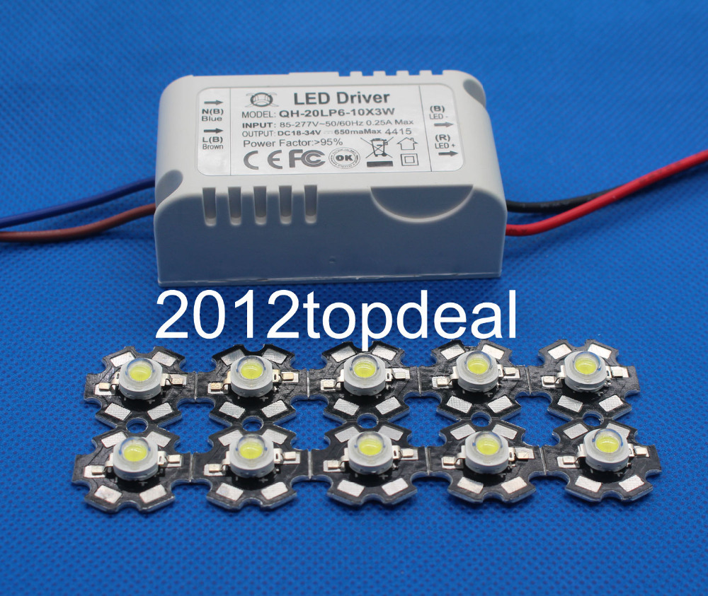 5Pcs 5W High Power Cool White 20000-25000k SMD LED Chip Bead Buld Light With PCB
