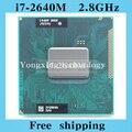 Core i7 2640 м 2.8 ГГц 4 м двойного восемь темы SR03R 2640 ноутбук процессоры ноутбук процессора PGA 988 контакт. гнездо G2