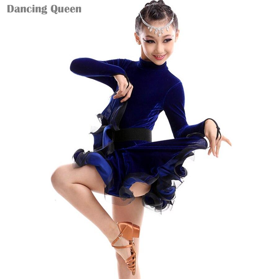 aliexpress  buy girls dance latin dresses kids dance