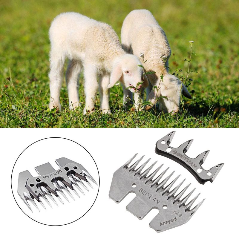 13 Tooth Sheep Blade <font><b>Goats</b></font> Shears Clipper Cutter Convex Comb Scissor Spare Parts For Shearer image