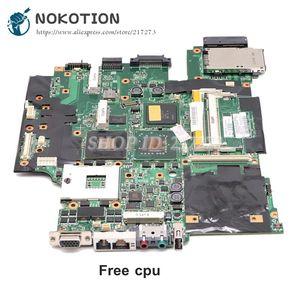 Image 1 - NOKOTION Lenovo thinkpad T61 T61P laptop anakart 42W7653 44C3931 42W7877 15.4 965PM DDR2 FX570M grafik ücretsiz cpu