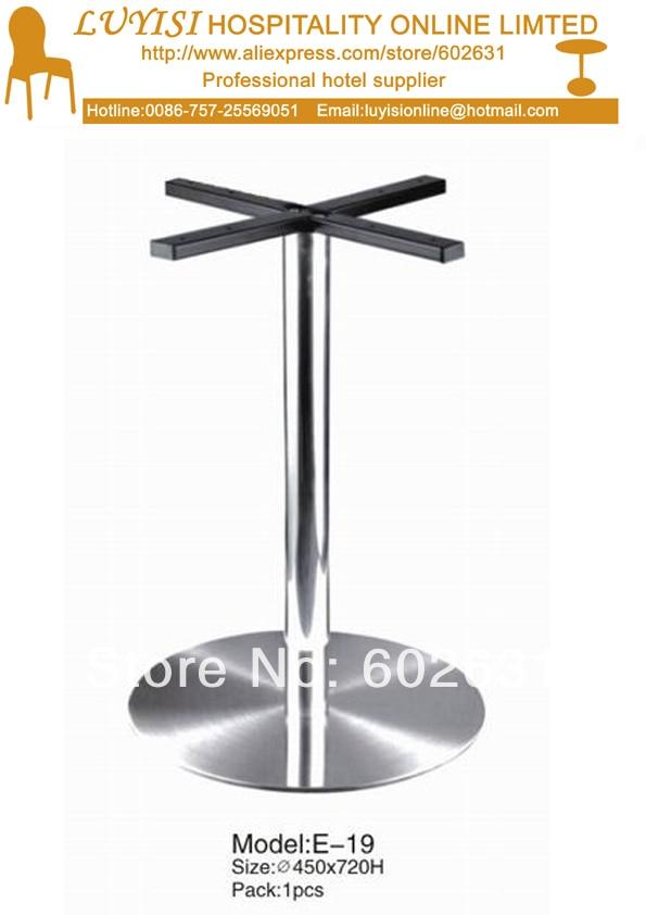 Fashion stainless steel cocktail table base E19 защита паха мужская green hill gens csg 6048 белая