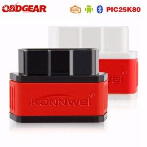Image 1 - OBD2 Mini ELM327 Scanner Autoscanner ICar2 ULME 327 V1.5 OBD2 Bluetooth Adapter EML327 Auto Diagnose Werkzeug Mit Pic18f25k80 Chips