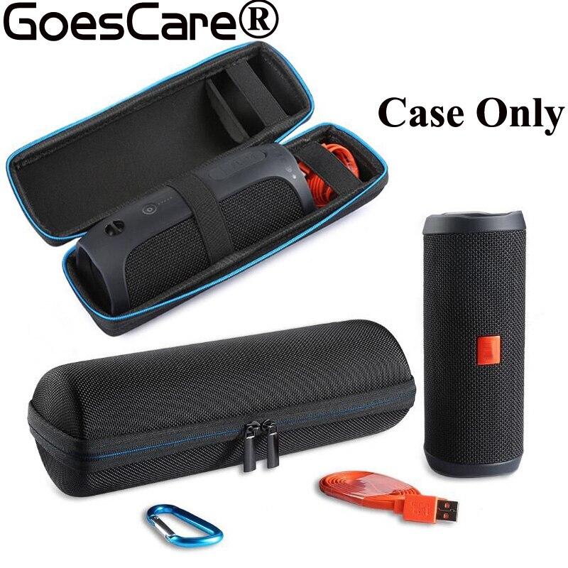 bilder für Festtasche Deckung Aufbewahrungsbox Reisetasche Carry Schutzhülle Für JBL Flip4 Flip 4 Bluetooth Lautsprecher Extra Raum Für Plug & Kabel