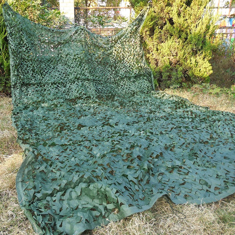 3x5m désert Jungle numérique militaire Camo aveugle abri solaire bâche de voiture en plein air randonnée arbre Stand chasse Camouflage filets