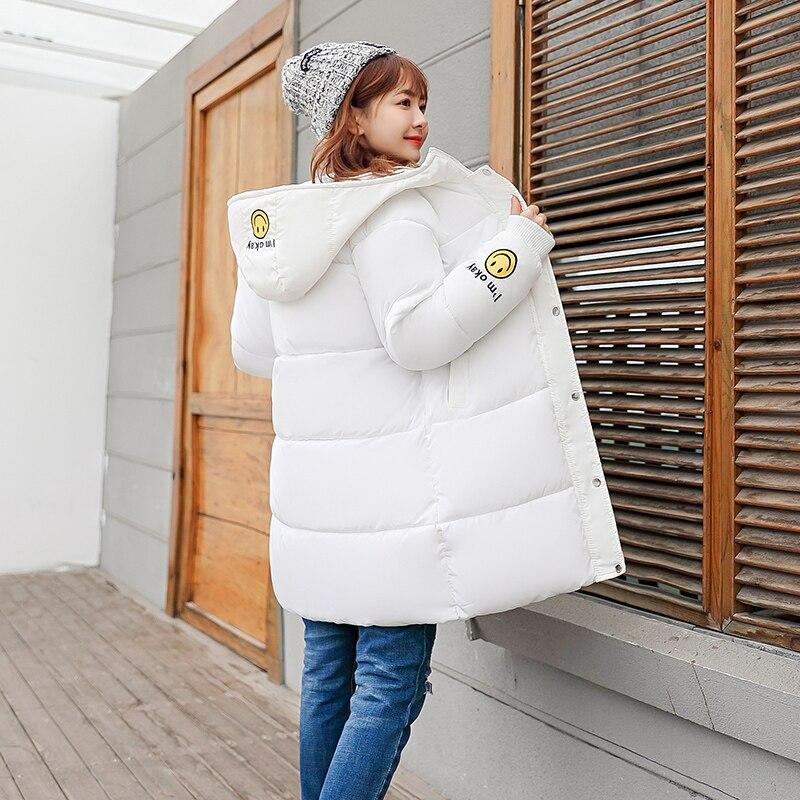 Winter Jacket Women Coat Long Hooded Jacket Cotton Padded Jacket Winter   Parkas   Warm Jacket Large Size Outswear
