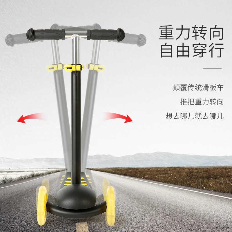Bolsa infantil triciclo multi-purpose pedal carrinho de bebê de flash carro deslize 3-5 anos Multifuncional 5 in1 flash slide