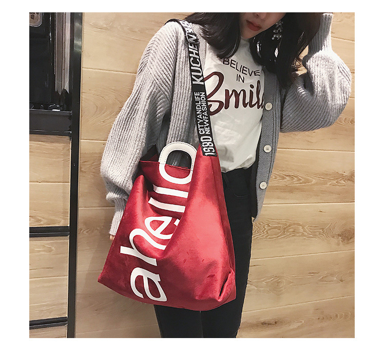 HTB1q7BRXzzuK1RjSsppq6xz0XXah - New Large-capacity Velvet Handbag Fashion Lady Letter Shoulder Crossbody Bag High Quality Women's Shopping Bag Tote