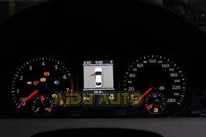 Image 2 - สีCluster Dashboard 280 Km/hสีแดงเข็มกวาด35D 920 880 DสำหรับPassat B7 CC
