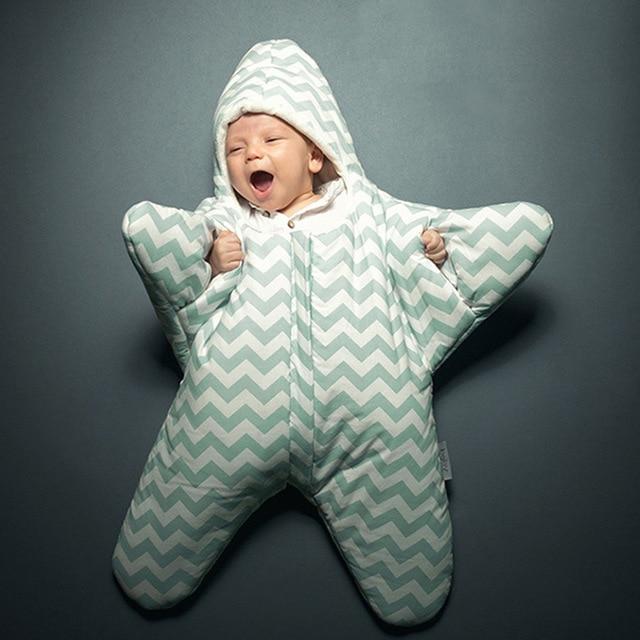huge discount 9c6d0 85714 US $18.78 10% OFF 2016 hot Baby Sleeping Bag Star Shaped Winter Warm Thick  Stroller Sleeping Sack for Newborn Infant saco bebe dormir slaapzak-in ...