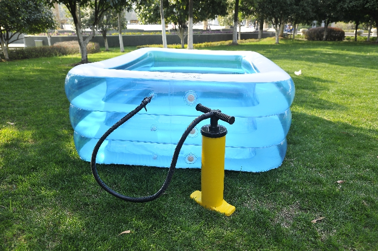 Tricyclic thickening heightening the family swimming pool for adults children s wading pool inflatable toys