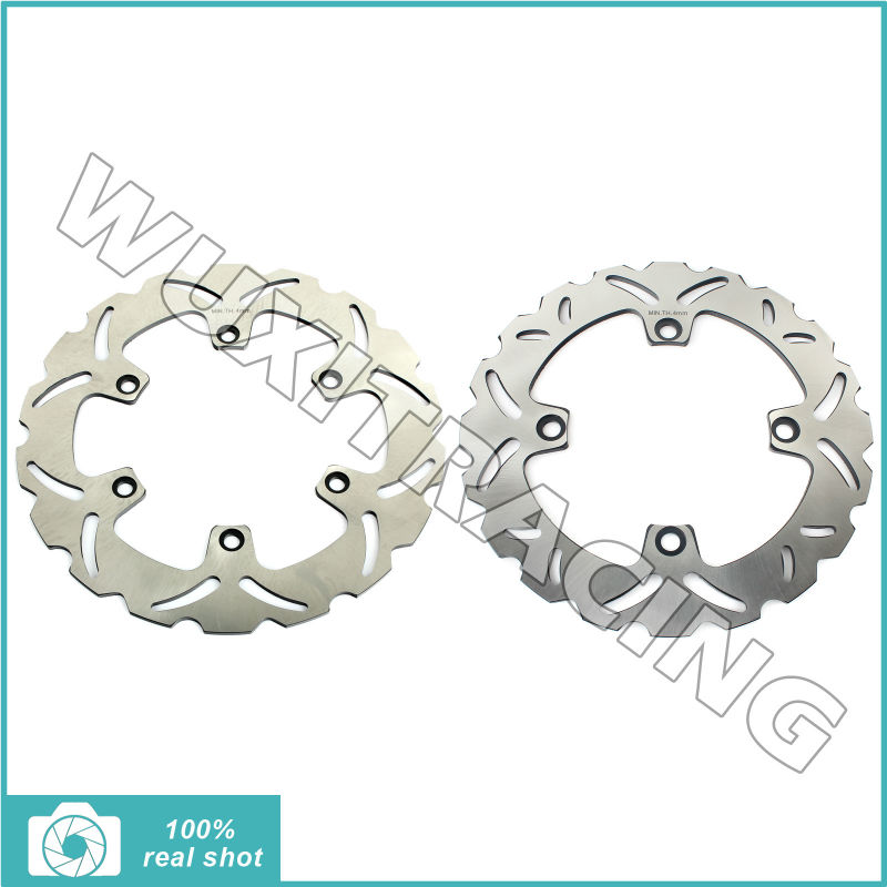2004 2005 2006 2007 2008 296mm+240mm Full Set New Front Rear Brake Disc Rotor for Honda CBF 500 CBF500 04 05 06 07 08 car rear trunk security shield cargo cover for honda fit jazz 2004 2005 2006 2007 high qualit black beige auto accessories
