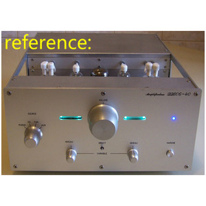 Image 5 - AIYIMA 6E2 Tube Preamplifier Audio Board VU Power Level Driver Board Volume Indication Bile Preamp Vacuum Tone Signal Diy Kits