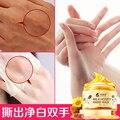 Mãos de Cuidados de Terapia Com Banho de Parafina Luva Mão de Cera de Mel Leite Esfoliar Esfoliante Hidratante Nutrir Clareamento Máscara Mão do Cuidado Da Pele