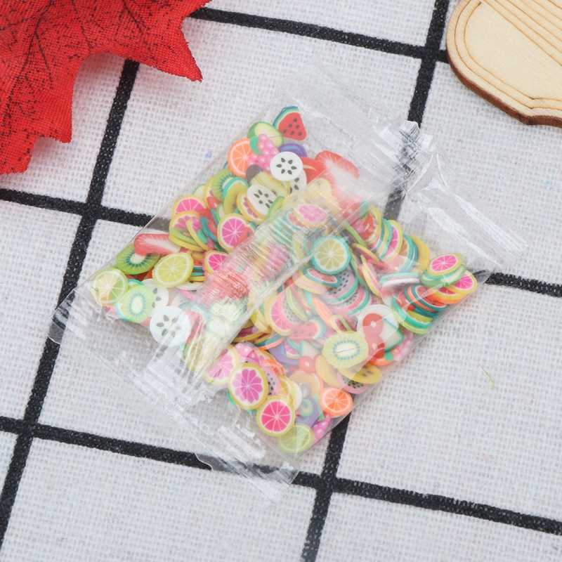 2 pack Multi-Styles Polymer Clay Toy DIY Slime Accessories Decor Jelly Mud Hand Gum