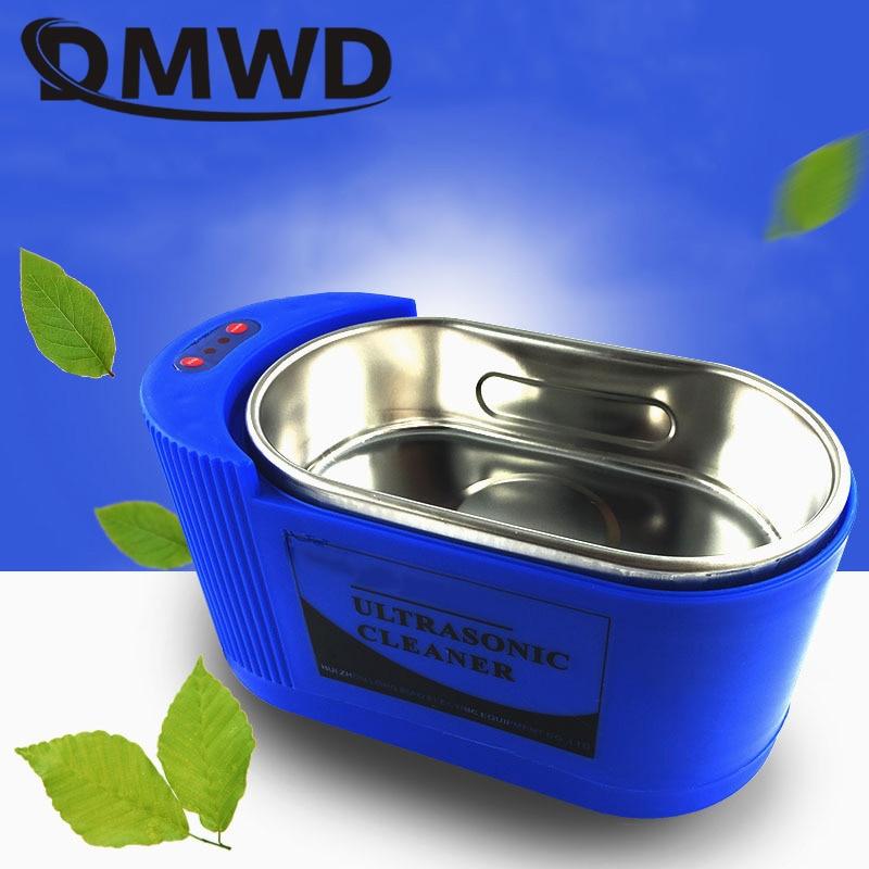 Image 2 - DMWD ультразвуковой очиститель стерилизатор ультразвуковая волна стиральная нержавеющая сталь для ванной ювелирные изделия очки часы Чистящая машина 35 Вт/60 Вт-in Ультразвуковые очистители from Бытовая техника