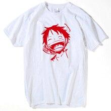 Camiseta de una pieza 2018 moda japonesa Anime ropa Color trasero Luffy  Camiseta para hombre y mujer marca Camiseta dacece58a32c6