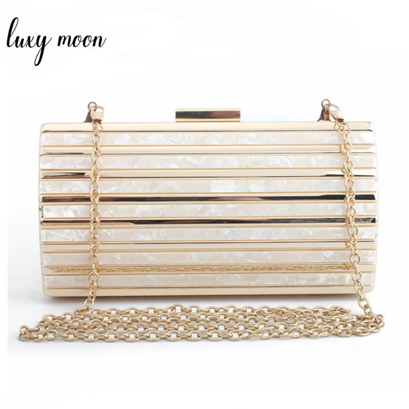 2018 Marbling pattern Day clutch Female Luxury acrylic evening bag party bag clutches chain crossbody Shoulder Bags zd896 bolsa ukqling women bag abs day clutches hand bag evening party wedding purse clutch chain shoulder crossbody bags box pattern