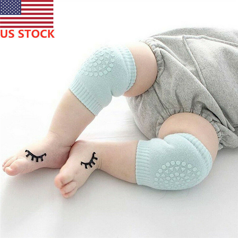 Fashion NEW Baby Infant Crawling Knee Pads Safety Walking Leg Elbow Protector Protective Kneelet Elbow Guards Kneepad Wrist