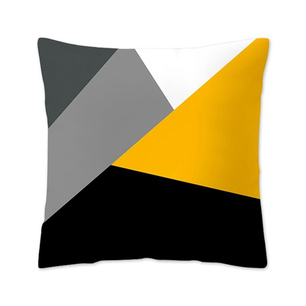 HTB1q7DvXBGE3KVjSZFhq6AkaFXan Polyester Geometric Cushion Yellow Pineapple Pillow Decorative Cushion for Sofa DIY Printed Pillow Seat Chair Cushion
