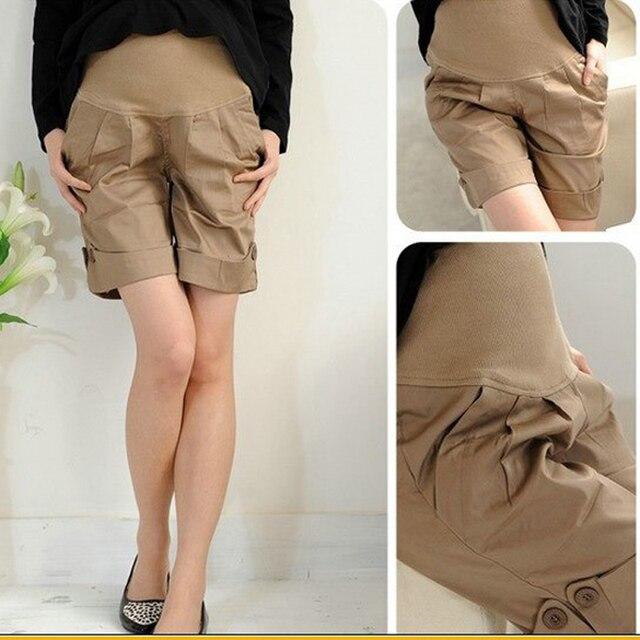 MamaLove ropa de Verano de maternidad Pantalones de maternidad Embarazadas Pantalones Pantalones de embarazo para las mujeres embarazadas de Maternidad Pantalones Cortos