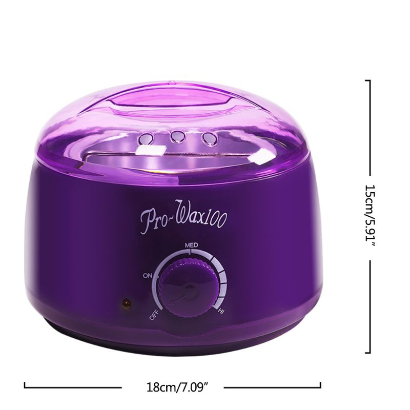 Large Capacity 500cc Paraffin Hand Wax Machine Warmer Heater Body Depilatory Electric Salon Spa Hair Removal Tool F42B in Wax Heaters from Home Appliances