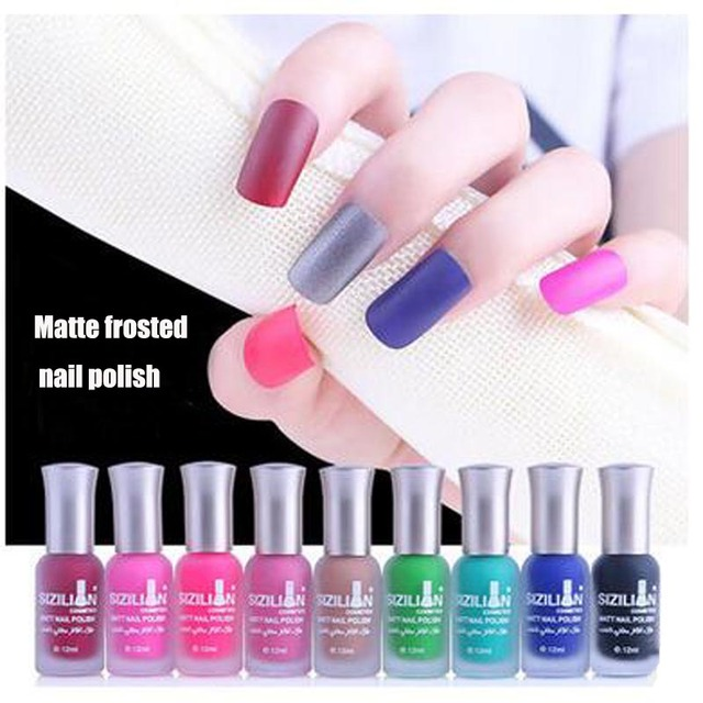 2017HOT!!Beautiful Nail PolFashion Matte Satin matte matte texture ...