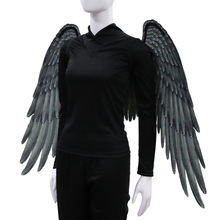 Black White Angel And Devil Wings Party Cosplay Wedding Halloween Decoration Adult Unisex Carnival Props