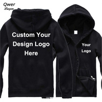 Drop Shipping VIP DIY Custom Logo and Design Hoodie Mens Women Jacket Fashion Costume Coat Unisex
