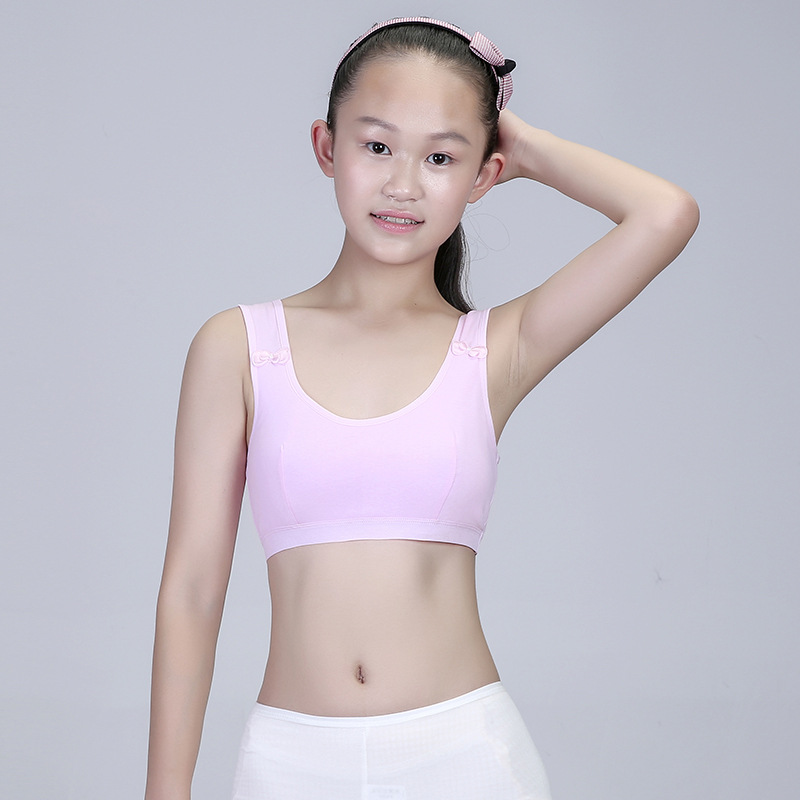 2930eaed4df37d Young Girls First Training Bra Teenage Breathable Sport Puberty Girl  Underwear Teen Child Fitness Bra 12 18Y Youth Breast Bra-in Bras from  Mother   Kids on ...