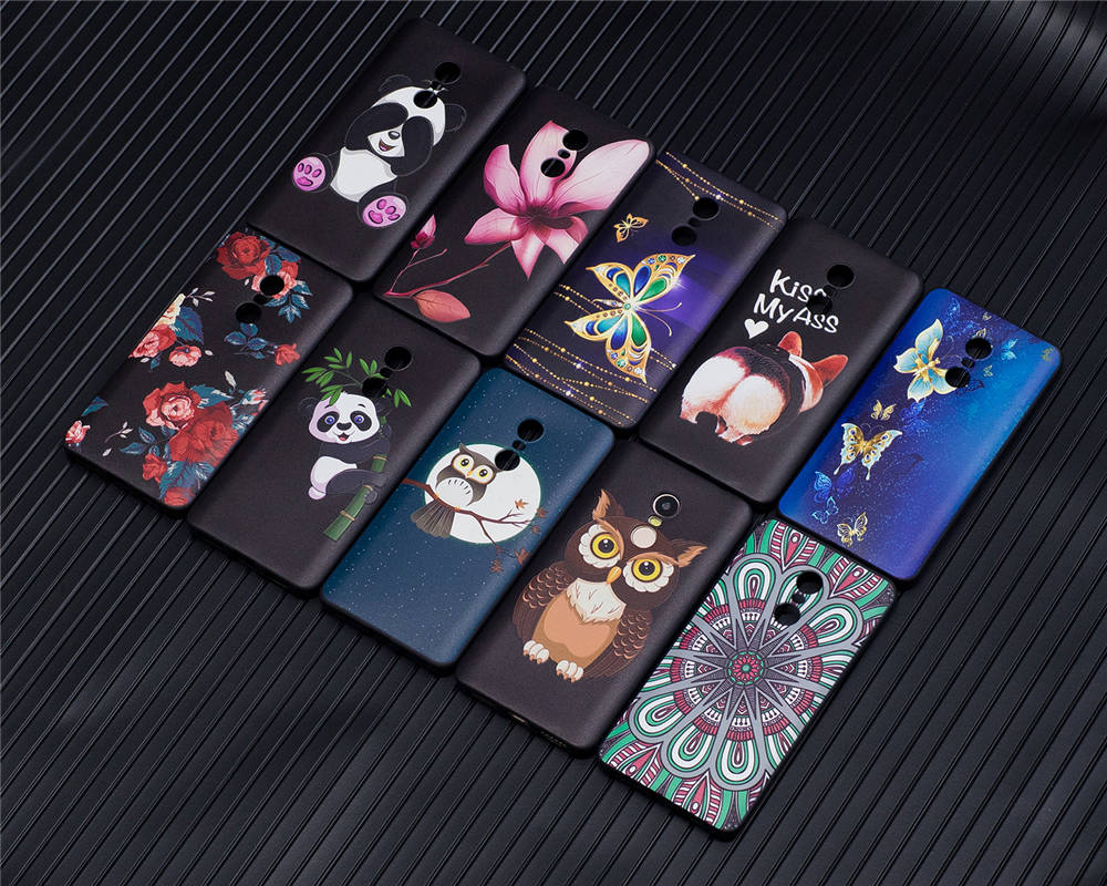 Phone Cases Coque For Xiaomi Redmi Note4 Note 4 Global Version Covers Relief TPU Capas For Redmi Note 4 Dual SIM 32GB 64GB Cases