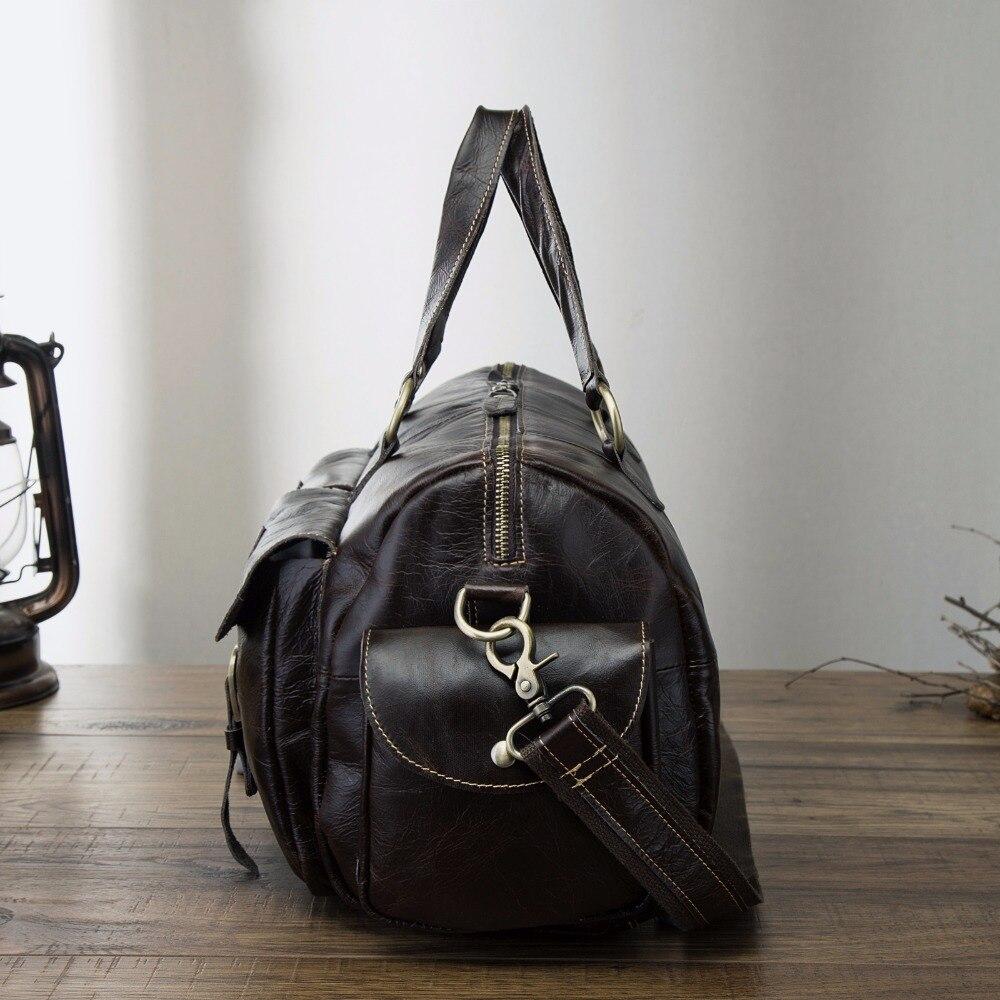 Mannen Origianl Leather Designer Reizen Bedrijfsaktentas Grote Computer Laptop Tas Attache Portfolio Tote Messenger Bag 1097c-in Aktetassen van Bagage & Tassen op  Groep 3