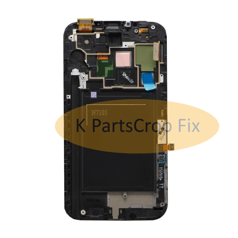 US $40 85 |5 5''LCD For Samsung Galaxy Note 2 Note2 N7100 N7105 T889 i317  i605 L900 LCD with frame Display Touch Screen Digitizer Assembly-in Mobile