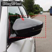 Car Styling For Skoda Kodiaq 2017 Model High Quality ABS Or Carbon Fibre Rearview Mirror Cover