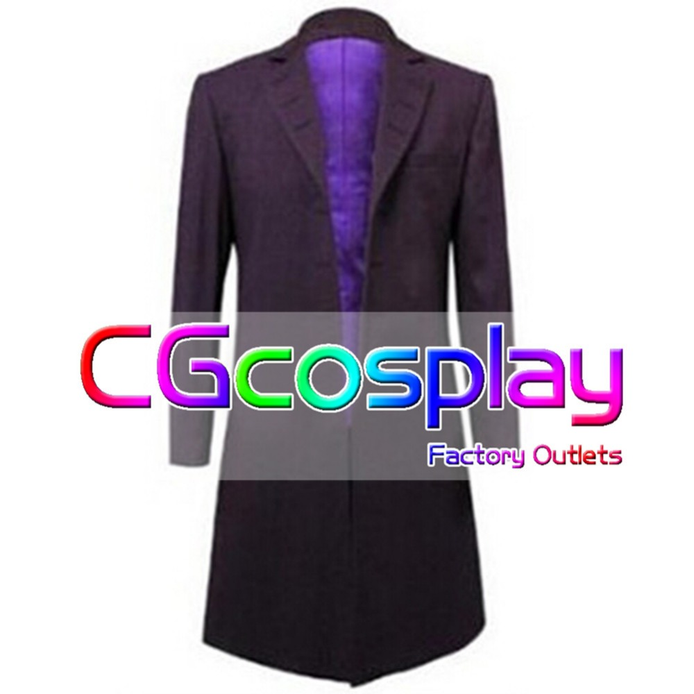 Doctor Who Twelfth 12th Dr Coat Velvet Cosplay Costume#Free shipping